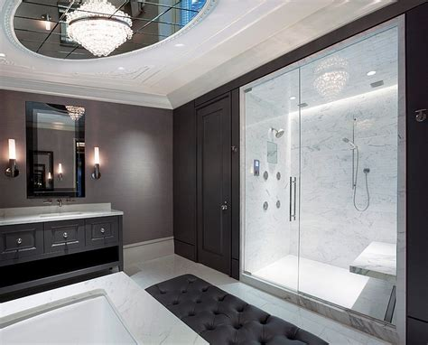 gray master bathroom ideas black and white bathrooms design ideas decor and accessories Gray Master Bathroom Ideas