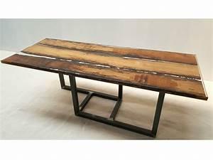 Table En Bois Et Resine : tavolo in legno di briccola by azimut resine ~ Dode.kayakingforconservation.com Idées de Décoration