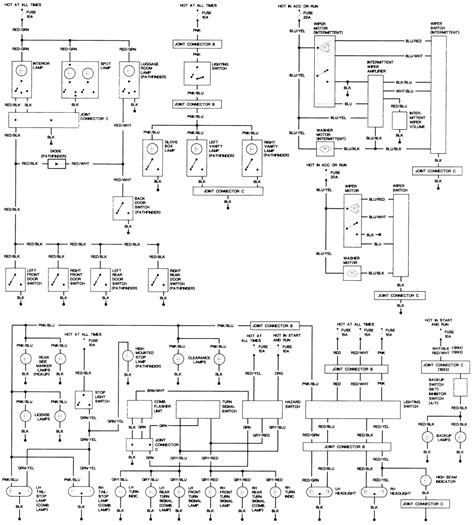 Wiring Diagram For Ignition Switch Wires Nissan