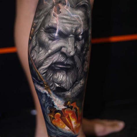 neptune god tattoo  tattoo ideas gallery