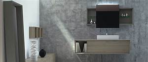 Bad Unterschrank Für Aufsatzwaschbecken : aufsatzwaschbecken mit einer waschtischplatte auf ma bad direkt ~ Indierocktalk.com Haus und Dekorationen