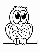 Easy Coloring Pages Animal Owl Cliparts Sheets Printable Favorites Dog sketch template