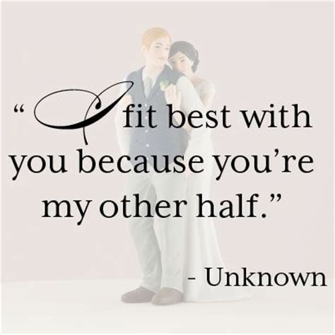 love my other half quotes