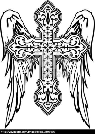 Cross Tattoo Coloring Pages at GetColorings.com | Free