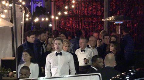 Emma Watson Chord Overstreet Outside The Vanity Fair