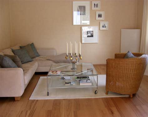 Bescheiden Wohnzimmereinrichtung Warm Creme Braun Wandfarbe Rockydurham