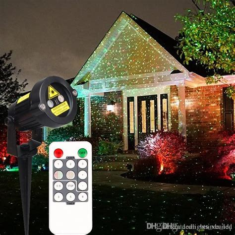 outdoor christmas strobe lights 2016 christmas laser garden lights decorative l red and