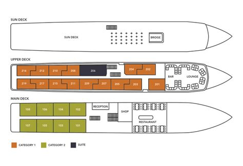 ms princess deck plan ms douro prince river cruises noble caledonia
