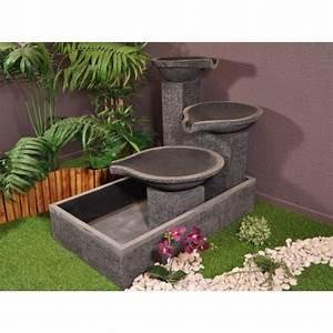 Fontaine De Jardin Pas Cher : fontaine de jardin solaire pas cher ~ Carolinahurricanesstore.com Idées de Décoration
