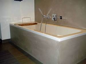 Wandgestaltung Bad Ohne Fliesen : wohnideen wandgestaltung maler fugenloses bad ohne fliesen als badgestaltung in wiesbaden ~ Sanjose-hotels-ca.com Haus und Dekorationen