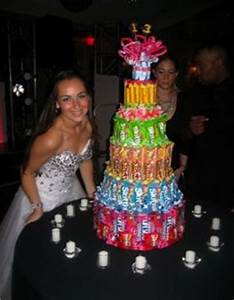 Alternatives To Sweet 16 Candle Lighting Ceremony Sydney With Tiff 39 S Candy Cake Party Theme Candy