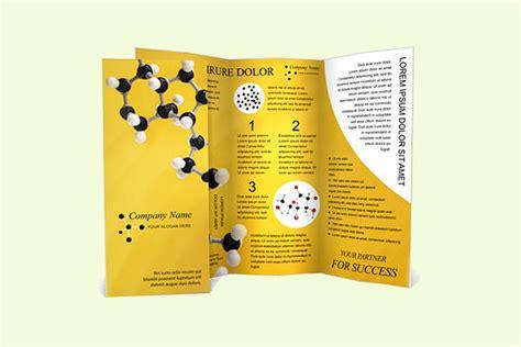 science brochure template 20 science brochures editable psd ai vector eps format freecreatives