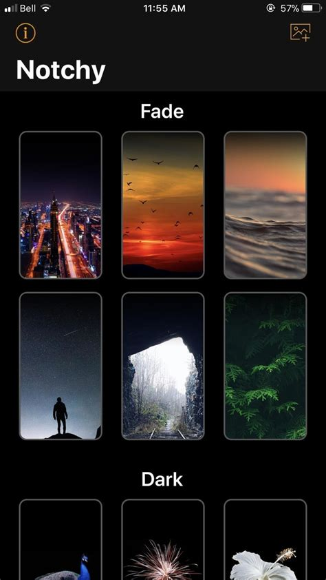 Best Iphone Wallpapers To Hide Notch best ways to hide the notch on your iphone x napsterblaze