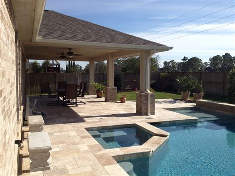 custom patio covers houston traditional houston by