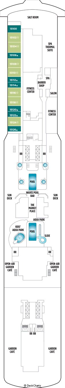 Ncl Getaway Deck Plan 5 by Getaway Cruise Ship Deck Plans On Cruise Critic