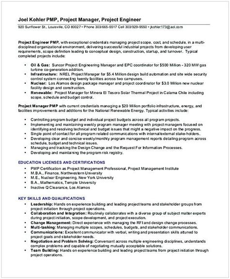 Entry Level Project Manager Resume by Best 25 Project Manager Resume Ideas On