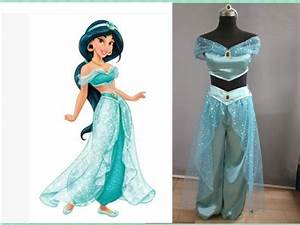 Free shipping Cosplay Costume Professional Aladdin Jasmine cosplay Costumes Princess For Women ...