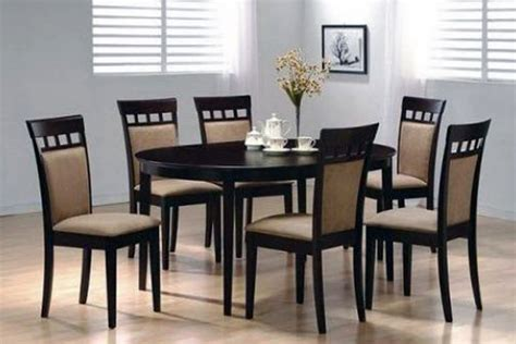 black round dining table and chairs buy black round dining table and 6 chairs in lagos nigeria