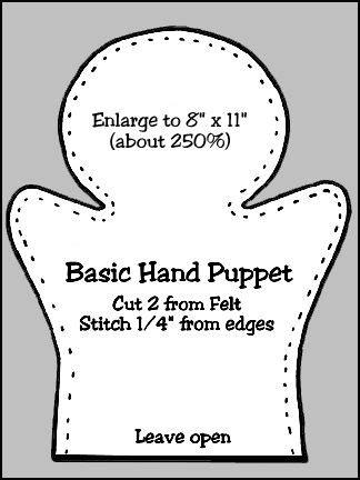 puppet workshop hand puppet body pattern hand puppets