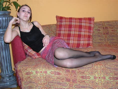 Teen In Leg Hose Homemade Porn
