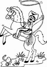 Cowboy Coloring Pages Printable sketch template
