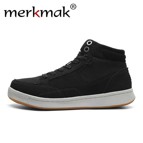 Merkmak Brand Men Warm Ankle Boots Outdoor Winter Autumn