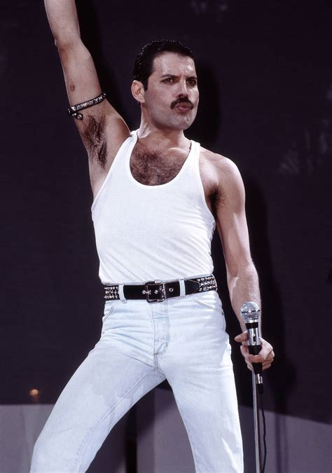 Freddie Mercury by Freddie Mercury S Legendary Live Aid Performance What