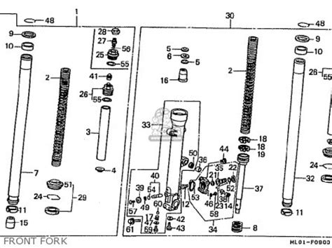 honda vfr400riii nc24 102 1988 j japan parts list partsmanual partsfiche