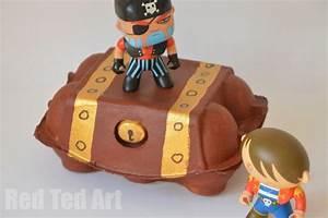 Egg Carton Crafts - Treasure box