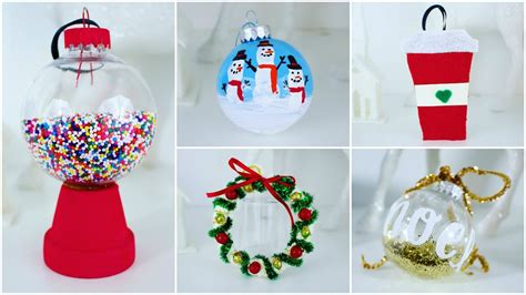 Cheap And Easy Diy Christmas Ornaments Pinterest Insp On