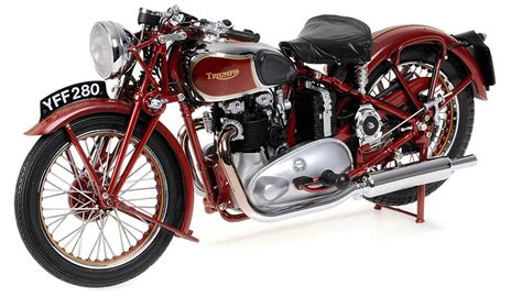 Triumph Speed 1938 by 1938 Triumph Speed Diecast Model Legacy Motors