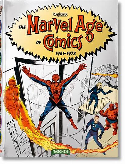 Marvel Comics Age Taschen 1978 1961 Pages