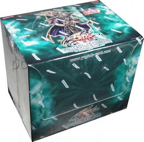 Spellcaster Command Structure Deck by Yu Gi Oh Spellcaster S Command Starter Box 1st