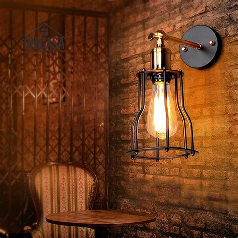 vintage wrought iron indoor wall lights kitchen wall sconce industrial chandelier