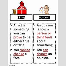 Farmhouse Fact Or Opinion By A Series Of 3rd Grade Events Tpt