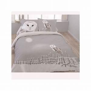 Tagesdecken 240 X 260 : housse de couette 260 x 240 2 taies chouette ivoire coton spl linge usine ~ Bigdaddyawards.com Haus und Dekorationen