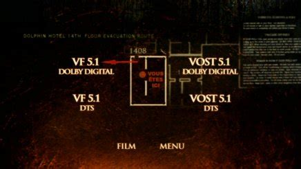 la chambre 1408 test dvd chambre 1408