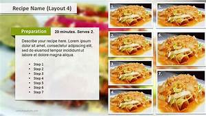 powerpoint recipe template recipe layouts ppt template With powerpoint recipe template