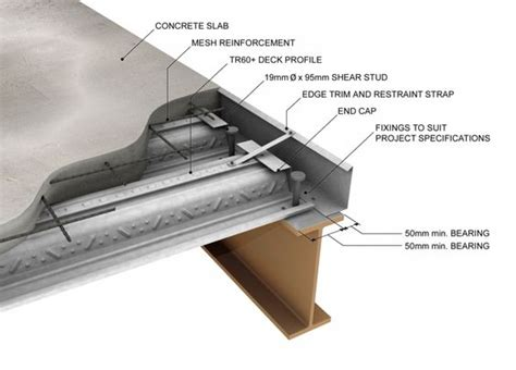 corrugated steel decking weight structural metal deck great strength light weight and