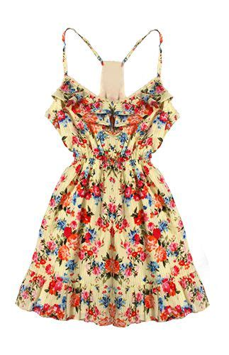 Floral Dress Festival Fashion Summer Summer Outfits