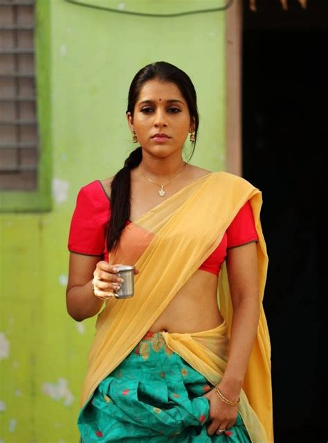 rashmi gautam navel pics saree