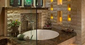 Fenster Modern Gestalten : bad modern gestalten mit licht modernes badezimmer im asiatischen stil mit runder badewanne und ~ Markanthonyermac.com Haus und Dekorationen