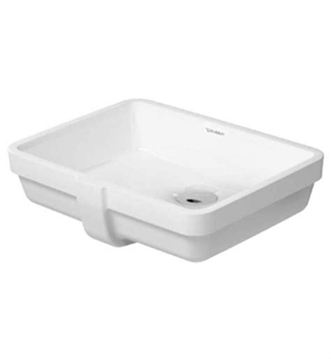 16 undermount bathroom sink duravit 03304300001 vero 16 7 8 inch undermount porcelain