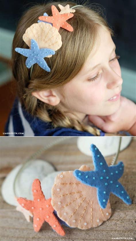 felt mermaid headband  crafts  pinterest diy