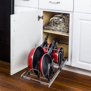 kitchen cabinet pot organizer cabinet organizers pots pans installation mk cabinetry 5665