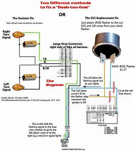 Simple Wiring Diagram Turn Signal Flasher