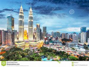 Kuala Lumpur, Malaysia Skyline Stock Photo