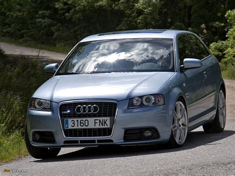 audi a3 1 8t s line 8p 2005 2008 wallpapers 1024x768