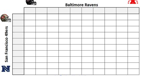 Printable Superbowl Squares Template by Excel Spreadsheets Help Printable Bowl Squares 2013