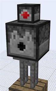 Minecraft Mob Ideas - Stone Golem by RedPanda7 on DeviantArt